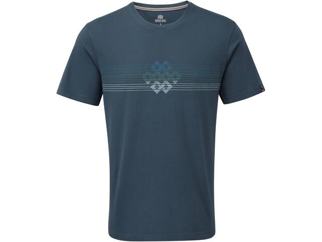 Sherpa Dharma T-shirt Homme, neelo blue